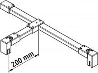 Kermi Stabilisierung Walk-In XB SSSFW1200 silber hochglanz, ZDSSSFWXB120VK