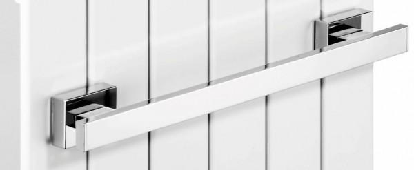Giese Badetuchhalter eckig L = 590 mm mit Magnetbefestigung für Heizkörper, 34367-02