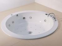 Hoesch Badewanne Dreamscape Rund 1800, weiß