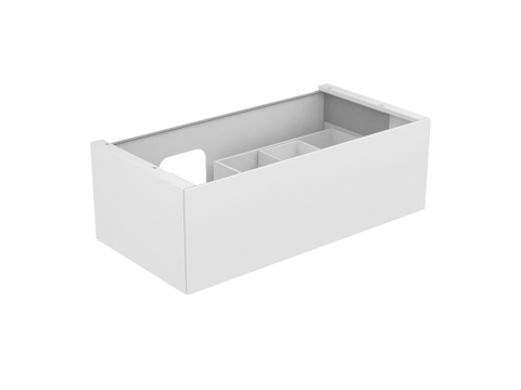 keuco waschtischunterbau edition 11 31253 1 front auszug b 1050 h 350 t 535 mm. Black Bedroom Furniture Sets. Home Design Ideas