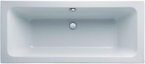 Geberit (Keramag) Badewanne iCon 650480, L: 1800, B: 800 mm, weiss, Überlauf mittig, 650480000