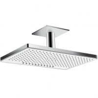 Hansgrohe Kopfbrause Rainmaker Select 460 2jet EcoSmart Deckenmontage weiss/chrom, 24014400