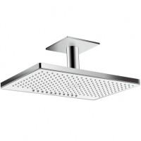 Hansgrohe Kopfbrause Rainmaker Select 460 2jet Deckenmontage weiss/chrom, 24004400