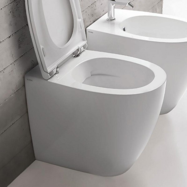 Beliebt Globo 4All Stand-WC, spülrandlos, T:540, B:360, H:430mm, Abgang JS52