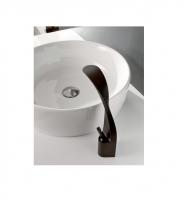 Graff Ametis hohe Waschtischarmatur, mechanisch, schwarz