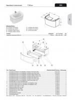 Ideal Standard Schubladenfront DEA, für WT-US b:800mm, TV061WG mit Ablage, Hochglanz weiß lackiert