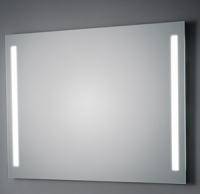 KOH-I-NOOR T5 Wandspiegel mit Seitenbeleuchtung, B: 100 cm, H: 100 cm
