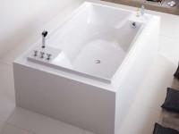 Hoesch Badewanne Santee 1900x1200, weiß