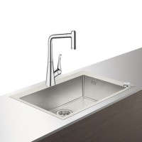 Hansgrohe Select Spülencombi 660 edelstahl-opt. C71-F660-03 ST, 43209800