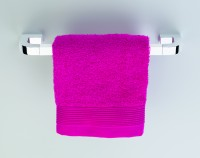 Neuesbad Handtuchhalter 25 cm NIKA, weiss-chrom