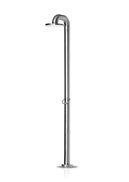 JEE-O fatline shower 01 freistehende Dusche, edelstahl gebürstet, 200-6100