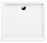 Neuesbad Acryl Rechteck Duschwanne 1000 x 800 x 55 mm, weiss