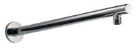 HSK Wandarm Rund, gerade, mit Rosette, Ausladung 440 mm