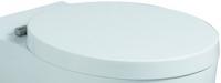 Keramag Cassini WC-Sitz mit Deckel, abnehmbar, weiss, 575200000