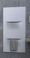 Caleido cut vertikal zweilagig Badheizkörper B: 620 mm x H: 1820 mm