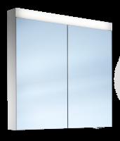 Schneider Spiegelschr. Pataline /80/2/LED, 1x17W LED 800x760x120 weiss, 161.080.02.02