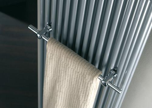 HSK Handtuchhalter, verchromt, 500 mm, für Badheizkörper Twin