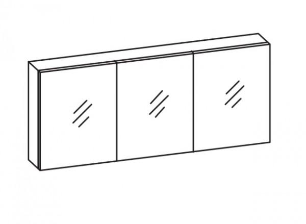Artiqua Spiegelschrank , Weiß Glanz, 070-SET-2-16-68