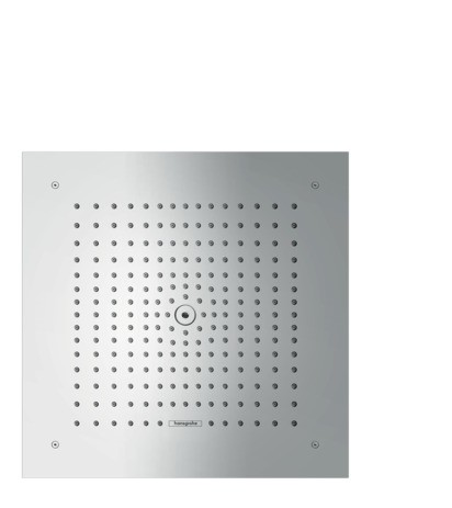 Hansgrohe Kopfbrause Raindance E 400 1jet Unterputz EcoSmart 9 l/min chrom, 26253000