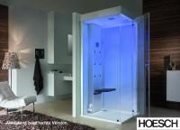 Hoesch Dampfbad SenseEase Quadrat 1000x1000 li.