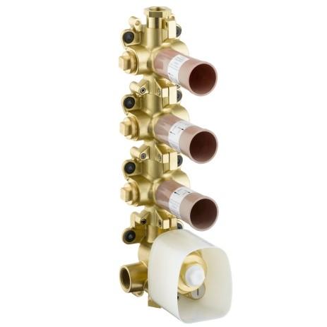 Hansgrohe Thermostatmodul Unterputz Axor Starck Grundset, 10750180