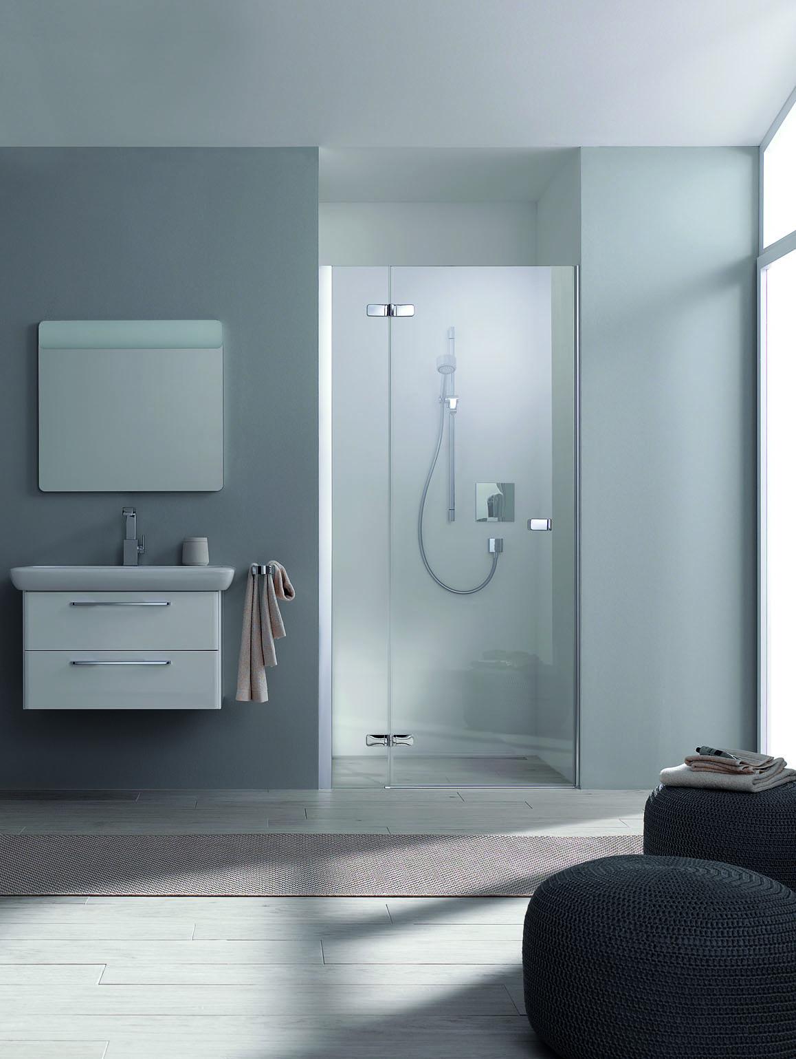 koralle s500plus fl gelt r f r nische nffa a li 80x200cm silber poliert echtglas transp. Black Bedroom Furniture Sets. Home Design Ideas