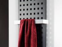 HSK Handtuchhalter 340 mm, weiss, für Badheizkörper Atelier, Alto