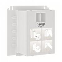 GROHE Revisionsschacht 40911 für Uniset, Rapid SL für kleine Abdeckplatten, 40911000