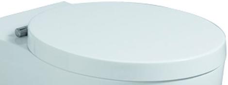 Cassini WC-Sitz mit Deckel, abnehmbar, weiss, 575200000 575200000