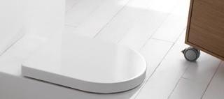Concept WC-Sitz mit Deckel, mit Absenkautomatik, weiss SA240