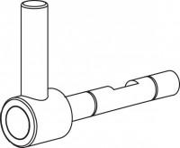 Mepa Sanicontrol Style Mischer, komplett Warm/Kalt, 750007