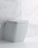 Axa one Serie 138 Stand-Tiefspül-WC, B: 400 mm, T: 540 mm, weiss glänzend