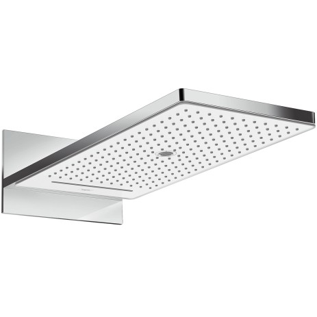 Hansgrohe Kopfbrause Rainmaker Select 580 3jet Wandmontage weiss/chrom, 24001400