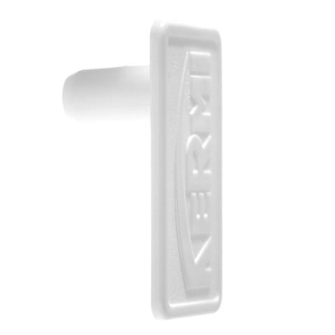 Kermi-Clip für seitl. Abdeckung, rechts f. Typ 11-33,silber-metall, ZK00070002