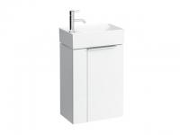 Laufen Waschtischunterbau Kartell by Laufen 445x275x615,1 Tür,Scharniere rechts,Weiß glänzend, 40751