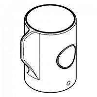 GROHE Absperrgriff Aquadimmer 49056 für Euphoria/Tempesta Thermostat-Duschsysteme chrom, 49056000