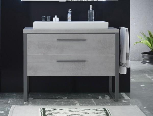 Waschtischunterschrank 9025-WTUSL03, B:830, H:900, T:450mm