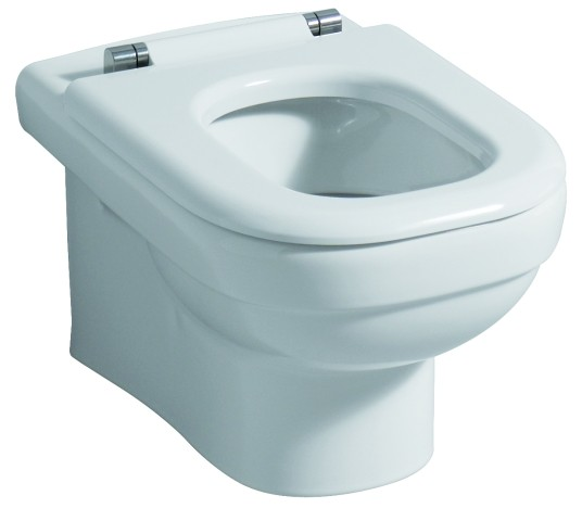 WC-Sitzring Dejuna, 572810, Scharniere: edelstahl, 572810000, weiss 572810000