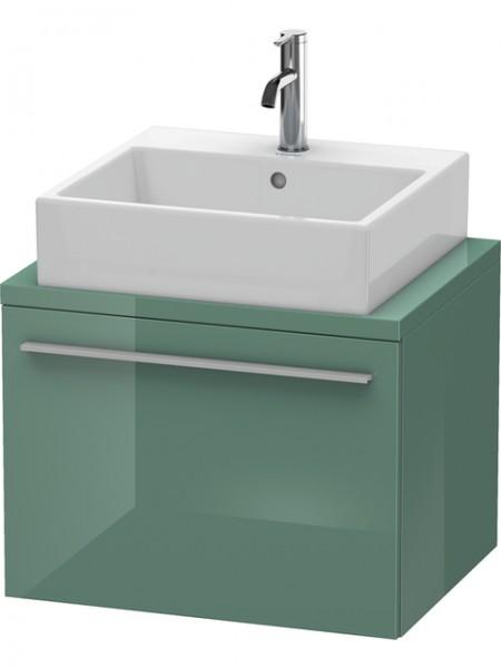 Duravit Waschtischunterschrank Konsole variabel X-Large 480x600x480mm 1 Auszug, Jade Hochglanz, XL54