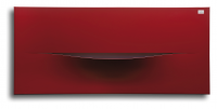 Caleido cut horizontal zweilagig Badheizkörper B: 1220 mm x H: 610 mm