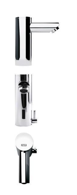 Sanicontrol Waschtisch-Armatur Saniline Style KW/WW Batterie 718856