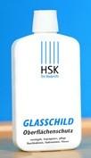 HSK Glasschild Oberflächenschutz