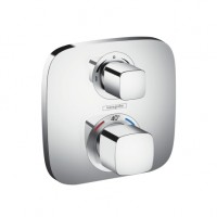Hansgrohe Thermostat Unterputz Ecostat E Fertigset 2 Verbraucher chrom