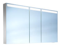 Schneider Spiegelschr. Arangaline/150/3/LED, 1x34W+1x26W LED 1500x700x120 alueloxiert, 160.150.02.50