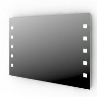 Treos Serie 605 Wandspiegel hinterleuchtet, B: 120 x H: 80 x T: 3,7 cm