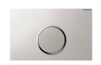 Geberit Sigma10 Betätigungsplatte für 1-Mengen-Spülung Platte=matt / Ring=glanz / Drücker=matt