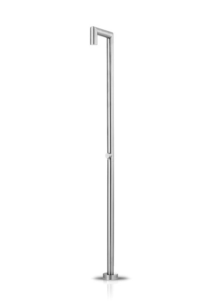 JEE-O original shower 04 freistehende Dusche, edelstahl gebürstet, 100-6400