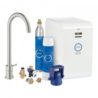 Grohe Blue Mono Starter Kit 31302 für BWT-Filter supersteel