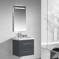 Neuesbad 1000 Badmöbelset 60 cm Breite, inklusive Waschtisch, Unterschrank und Spiegel