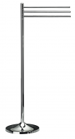 KOH-I-NOOR Koko Handtuchhalter mit 3 Stangen, Höhe 88 cm 5030, chrom